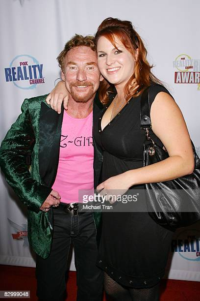 Danny Bonaduce and Amy Railsback arrive at the FOX Reality Channel Really Awards held at Avalon Nightclub on September 24 2008 in Hollywood California