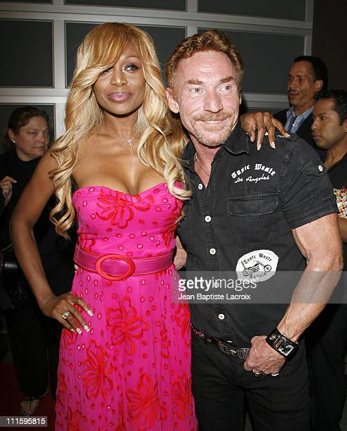 Danny Bonaduce and Coco Johnsen during The Hills CD Release Party April 23 2007 at Republic in West Hollywood California United States