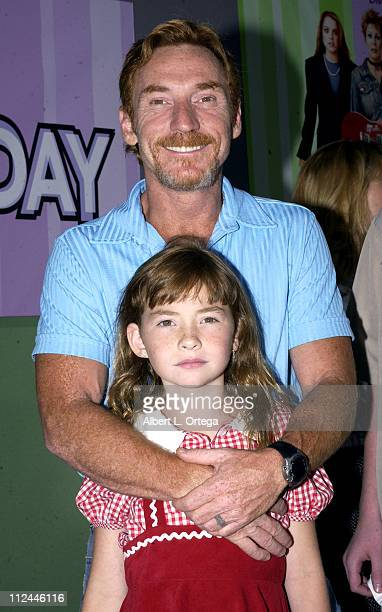 Danny Bonaduce and daughter Isabella during Premiere of Freaky Friday at El Capitan Theater in Hollywood California United States