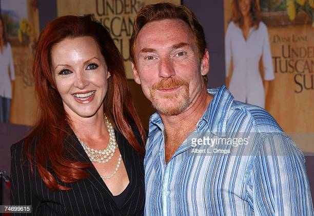 Danny Bonaduce and wife at the The El Capitan Theater in Hollywood California