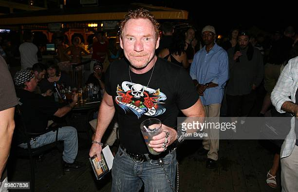 Danny Bonaduce attends his 50th Birthday party at Bally�s Bikini Beach Bar on August 14 2009 in Atlantic City New Jersey