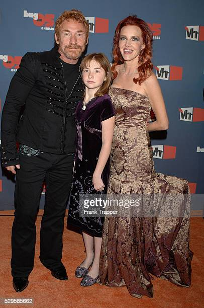 Danny Bonaduce daughter Isabella and wife Gretchen arrive at the VH1 Big in '05 Awards held at Sony Pictures Studios in Culver City