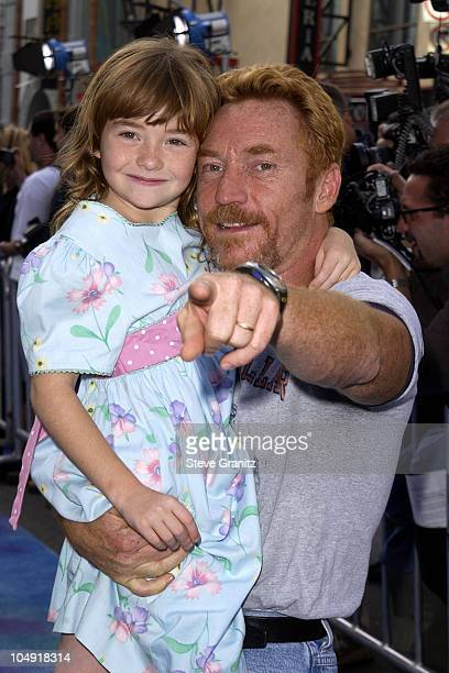Danny Bonaduce Daughter Isabella during Monsters Inc Premiere at El Capitan Theatre in Hollywood California United States