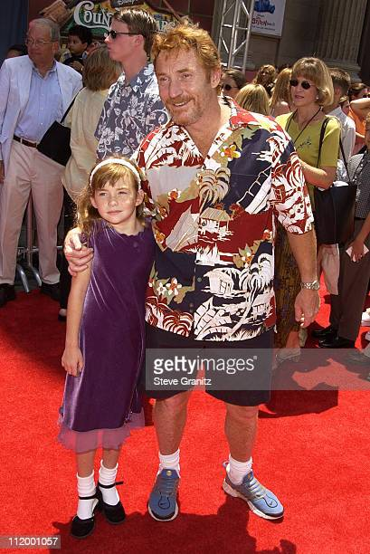 Danny Bonaduce daughter Isabella during The Country Bears Premiere at El Capitan Theatre in Hollywood California United States