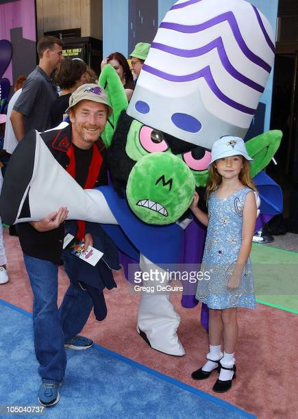 Danny Bonaduce daughter Isabella during The Powerpuff Girls Movie Premiere at Loews Century Plaza Theatre in Century City California United States