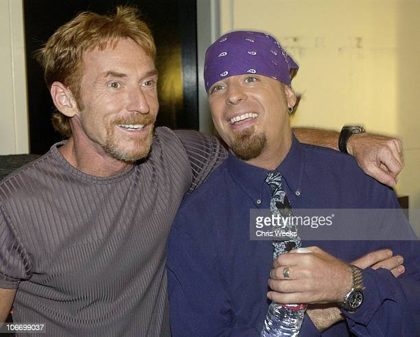 Danny Bonaduce Leif Garrett during David Spade and CoStars from Paramount Pictures' Dickie Roberts Former Child Star Tape Hollywood Squares at CBS...