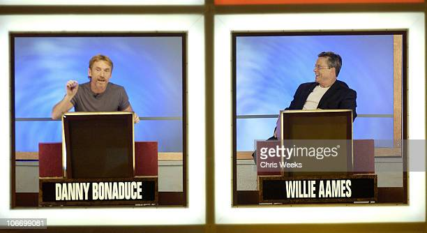Danny Bonaduce Willie Aames during David Spade and CoStars from Paramount Pictures' Dickie Roberts Former Child Star Tape Hollywood Squares at CBS...