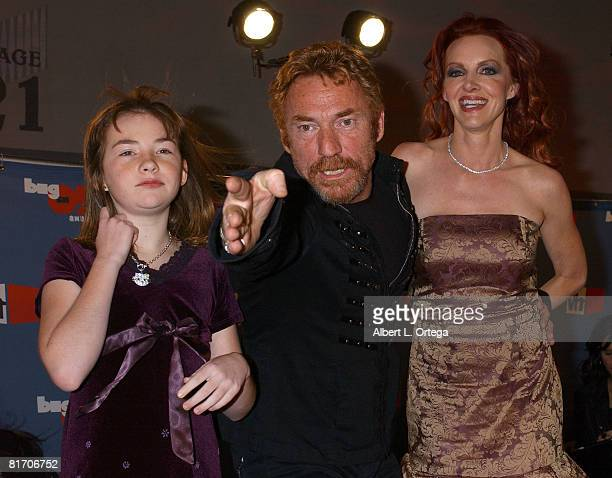 Danny Bonaduce with Gretchen Bonaduce and daughter Isabella