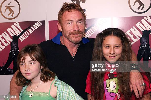 Danny Bonaduce with his daughter Isabella and friend Isabella