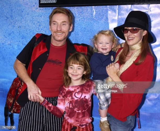 Danny Bonaduce with wife Gretchen son Dante and daughter Isabella at the The Cinerama Dome in Hollywood California