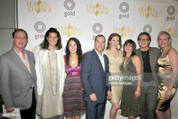 Danny Bouge Erica Molinari Annie Fensterstock Robin Rotenier Duvall O'Steen Mauri Pioppo Robert Lee Morris and Ariane Zurcher attend LEAVES of CHANGE...