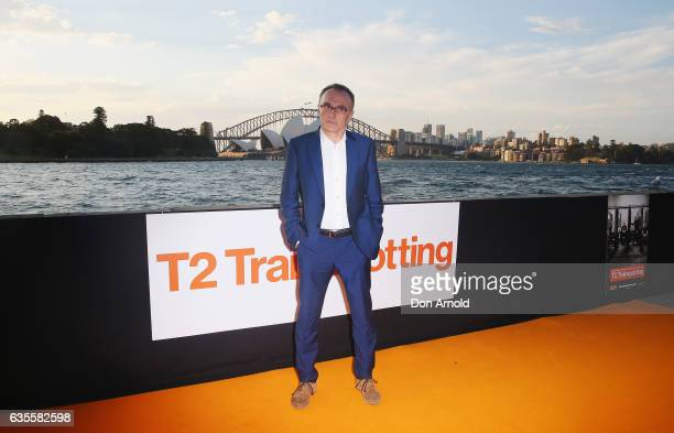 Danny Boyle arrives ahead of the T2 TRAINSPOTTING Australian Premiere on February 16 2017 in Sydney Australia