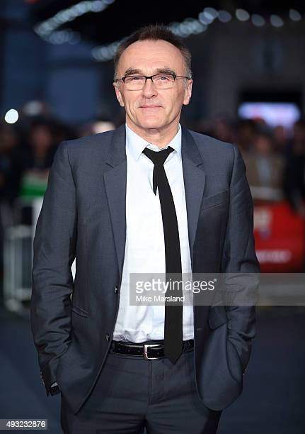 Danny Boyle attends a screening of 'Steve Jobs' on the closing night of the BFI London Film Festival at Odeon Leicester Square on October 18 2015 in...