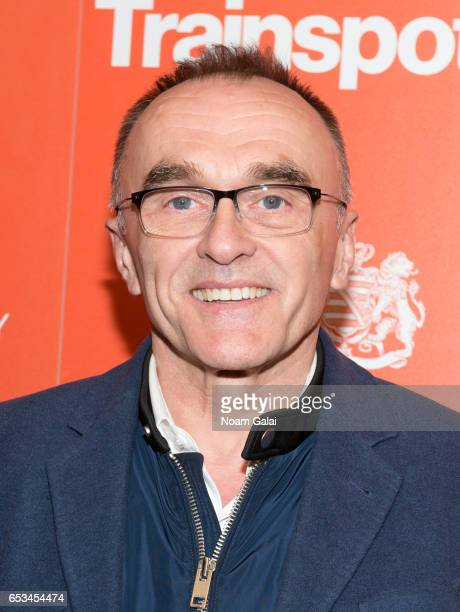 Danny Boyle attends a screening of 'T2 Trainspotting' hosted by TriStar Pictures and The Cinema Society at Landmark Sunshine Cinema on March 14 2017...