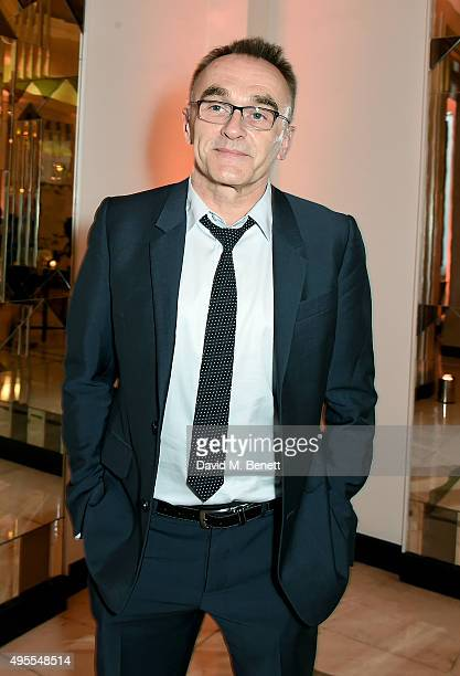 Danny Boyle attends the Harper's Bazaar Women of the Year Awards 2015 at Claridges Hotel on November 3 2015 in London England