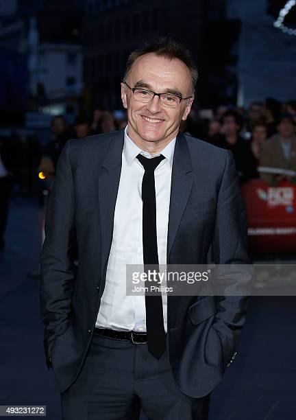 Danny Boyle attends the 'Steve Jobs' Closing Night Gala during the BFI London Film Festival at Odeon Leicester Square on October 18 2015 in London...