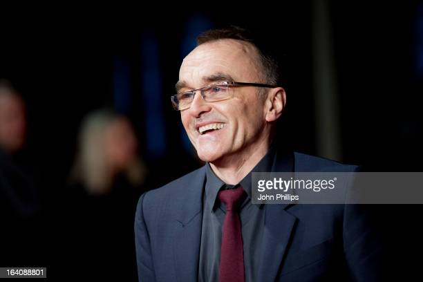 Danny Boyle attends the UK Film Premiere of 'Trance' at Odeon West End on March 19 2013 in London England