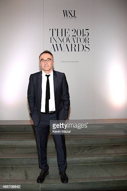 Danny Boyle attends the WSJ Magazine 2015 Innovator Awards at the Museum of Modern Art on November 4 2015 in New York City