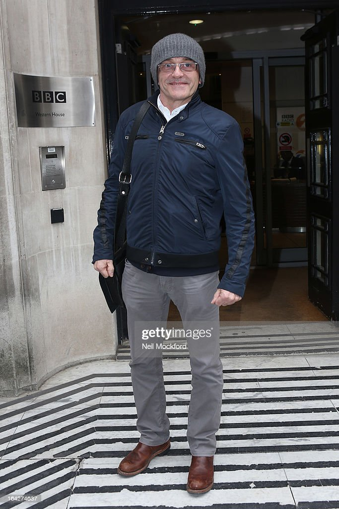 Danny Boyle seen at BBC Radio 2 on March 22, 2013 in London, England.