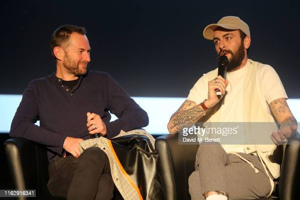 Danny Brocklehurst and Joe Gilgun attend the Manchester screening of Sky original Brassic all episodes of the comedy drama available 22nd August at...
