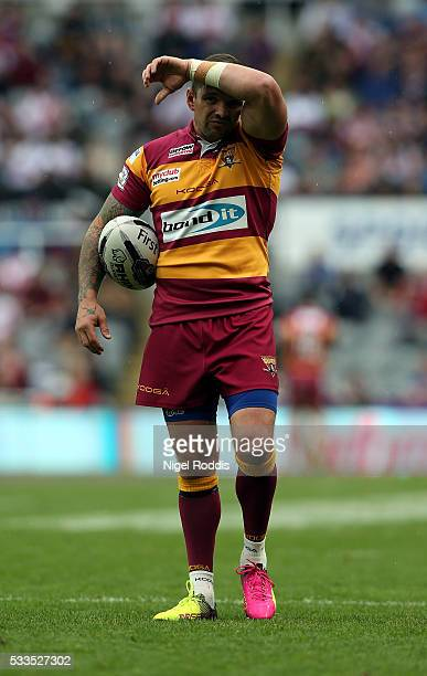Danny Brough of Huddersfield Giants during the First Utility Super League match between St Helens and Huddersfield Giants at St James' Park on May 22...