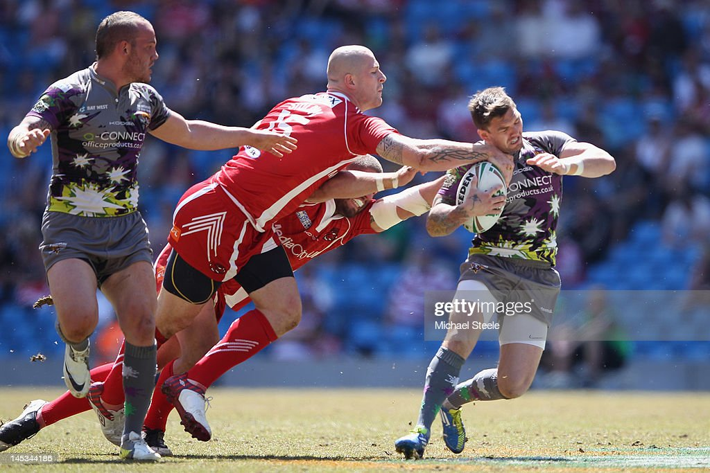Huddersfield Giants v Salford City Reds - Magic Weekend  : News Photo
