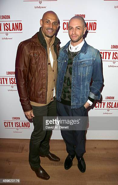 """Danny Brown and Brian Friedman attend an exclusive party to celebrate the imminent arrival of """"City Island by Ballymore"""" - a new island neighbourhood..."""