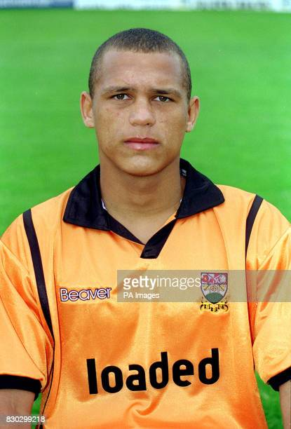 Danny Brown of Barnet football club prior to the 19992000 season