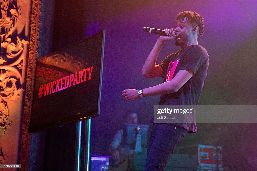 Danny Brown performs at Redd's Wicked Apple's 'The Most Wicked Party' event in Chicago, the second in a four-part series, with artist collective group AFROPUNK at Thalia Hall on June 4, 2015.