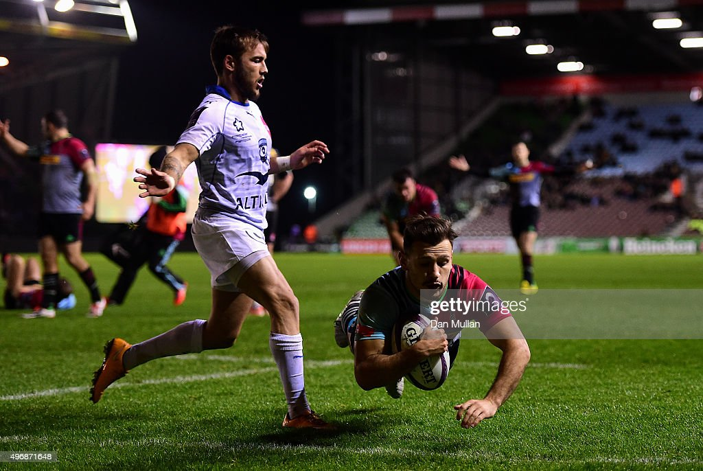 Harlequins v Montpellier - European Rugby Challenge Cup : News Photo