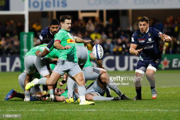 Danny CARE of Harlequins during the European Rugby Champions Cup, Pool 3 match between ASM Clermont Auvergne and Harlequin FC on November 16, 2019 in...