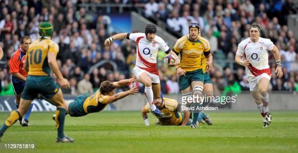Danny Cipriani England v Australia Rugby Autumn International at Twickenham Stadium, London.