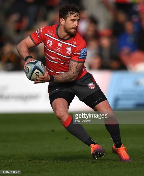 Danny Cipriani of Gloucester in action during the Gallagher Premiership Rugby match between Gloucester Rugby and Wasps at Kingsholm Stadium on March...