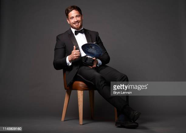 Danny Cipriani of Gloucester Rugby wins the Gallagher Premiership Rugby Player of the Season award during the Gallagher Premiership Rugby Awards 2019...