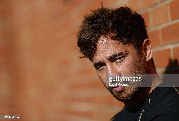 Danny Cipriani poses during the Wasps media session held at Broadstreet RFC on October 18 2016 in Coventry England