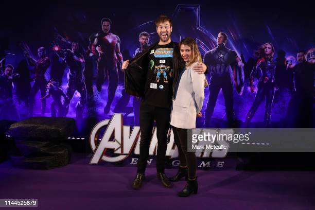 Danny Clayton attends the Sydney screening of Avengers End Game at Hoyts Entertainment Quarter on April 23 2019 in Sydney Australia