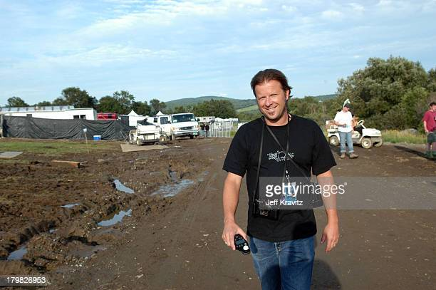 Danny Clinch during Phish Coventry Festival 2004 Day 1 at Coventry in Newport Vermont United States
