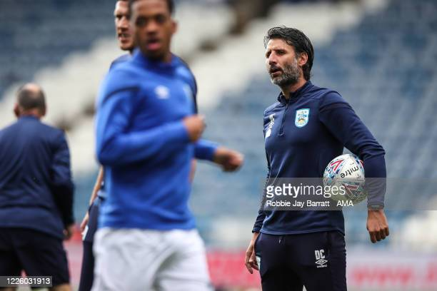 Danny Cowley head coach / manager of Huddersfield Town ahead of the Sky Bet Championship match between Huddersfield Town and Luton Town at John...