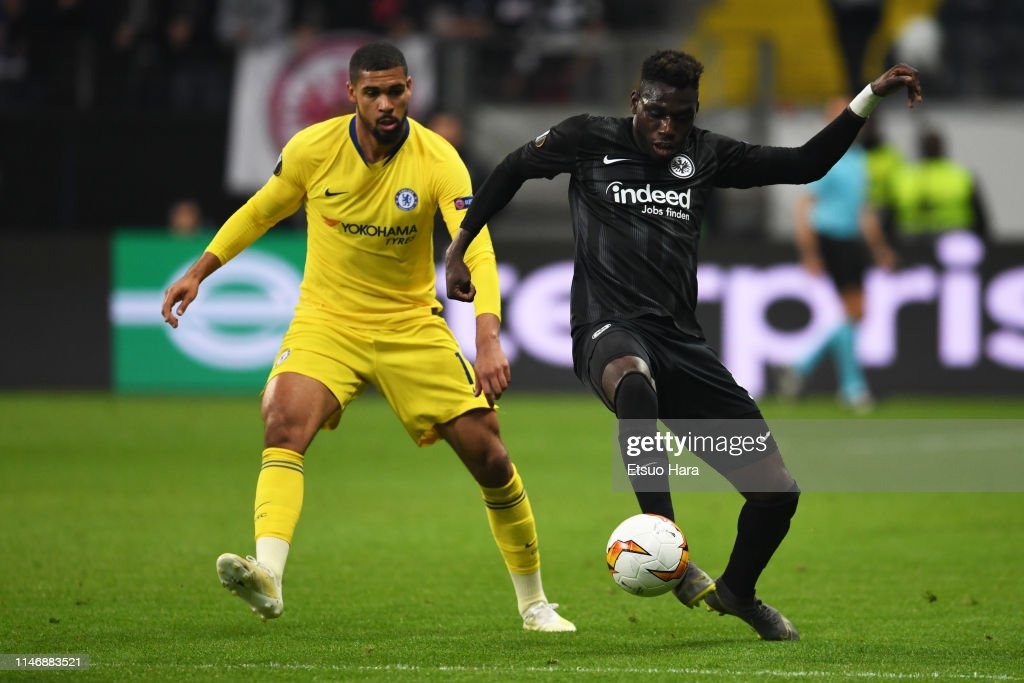 Eintracht Frankfurt v Chelsea - UEFA Europa League Semi Final : First Leg : News Photo