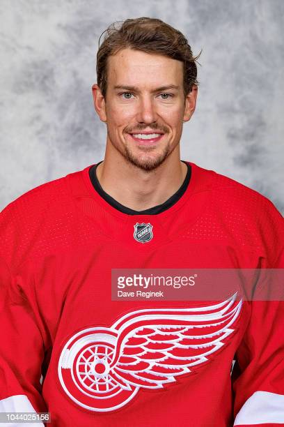Danny DeKeyser the Detroit Red Wings poses for his official headshot for the 20182019 season at Center Ice Arena on September 13 2018 in Traverse...