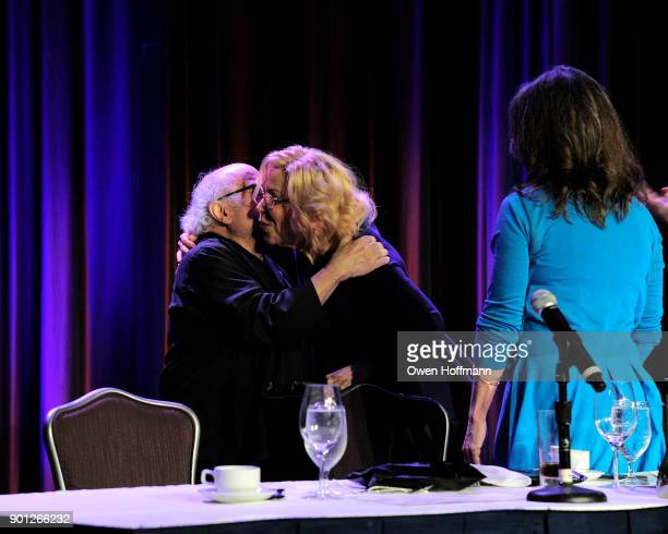 Danny DeVito and Bette Midler attend 83rd Annual Drama League Awards at Marriott Marquis on May 19 2017 in New York City