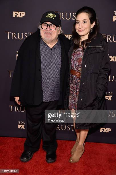 Danny DeVito and Lucy DeVito attend the 2018 FX Annual AllStar Party at SVA Theater on March 15 2018 in New York City