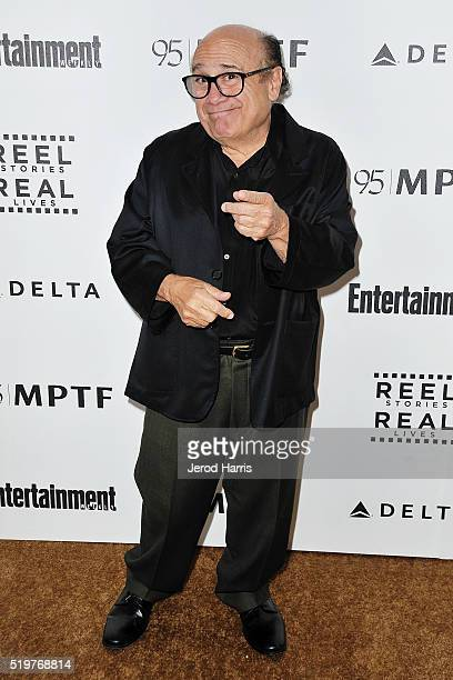 Danny DeVito arrives at the 5th Annual Reel Stories Real Lives Benefiting MPTF at Milk Studios on April 7 2016 in Los Angeles California