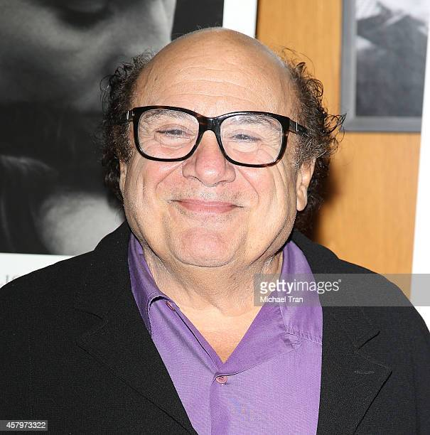 Danny DeVito arrives at the Los Angeles Premiere of 'The Better Angels' held at DGA Theater on October 27 2014 in Los Angeles California
