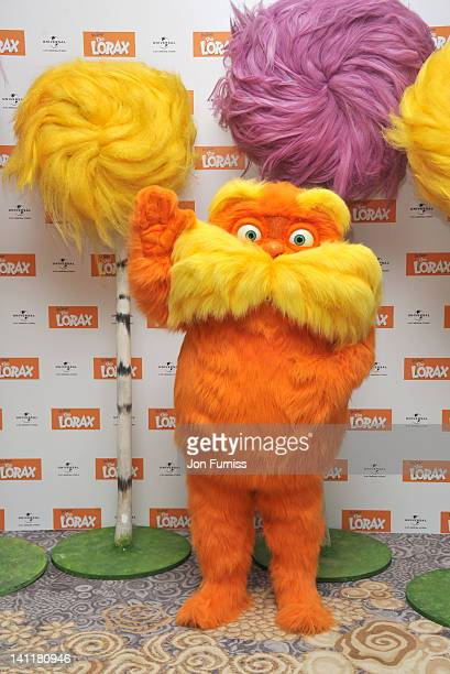 Danny DeVito attends a photocall for his new film 'The Lorax' at Dorchester Hotel on March 12 2012 in London England