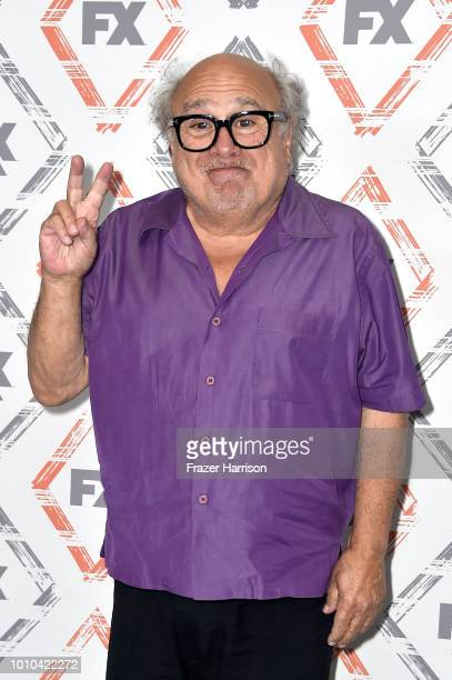 Danny DeVito attends FX Networks Starwalk Red Carpet at TCA at The Beverly Hilton Hotel on August 3, 2018 in Beverly Hills, California.