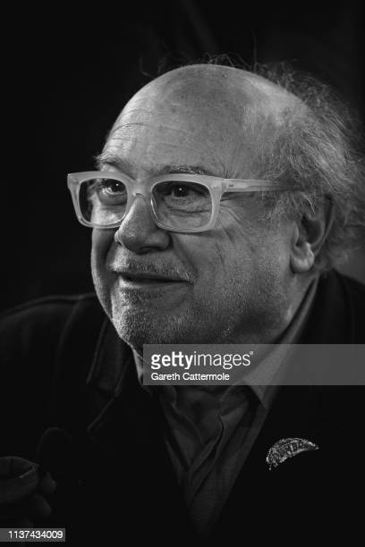 Danny DeVito attends the European Premiere of Disney's 'Dumbo' at The Curzon Mayfair on March 21 2019 in London England