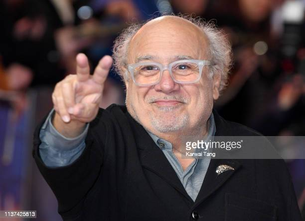 Danny DeVito attends the European premiere of 'Dumbo' at The Curzon Mayfair on March 21, 2019 in London, England.