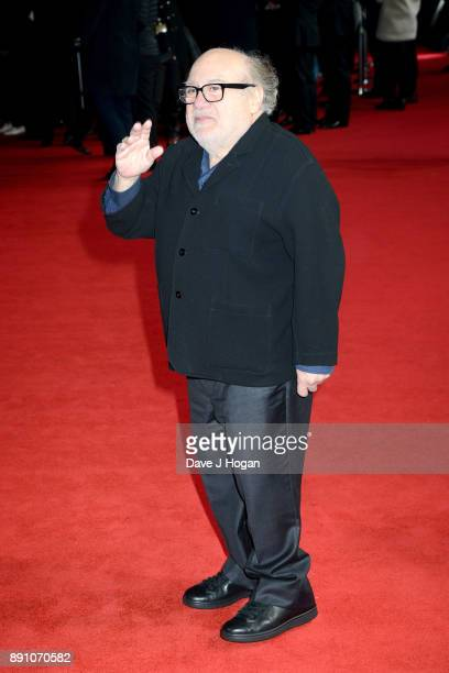 Danny DeVito attends the European Premiere of 'Star Wars The Last Jedi' at Royal Albert Hall on December 12 2017 in London England