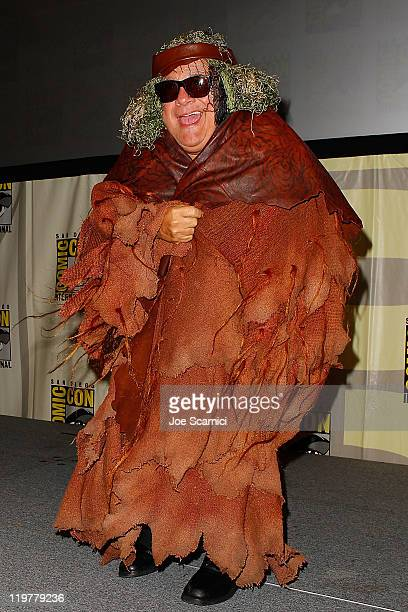 "Danny Devito attends the ""It's Always Sunny in Philadelphia"" panel at 2011 Comic-Con International - Day 4 at San Diego Convention Center on July 24,..."